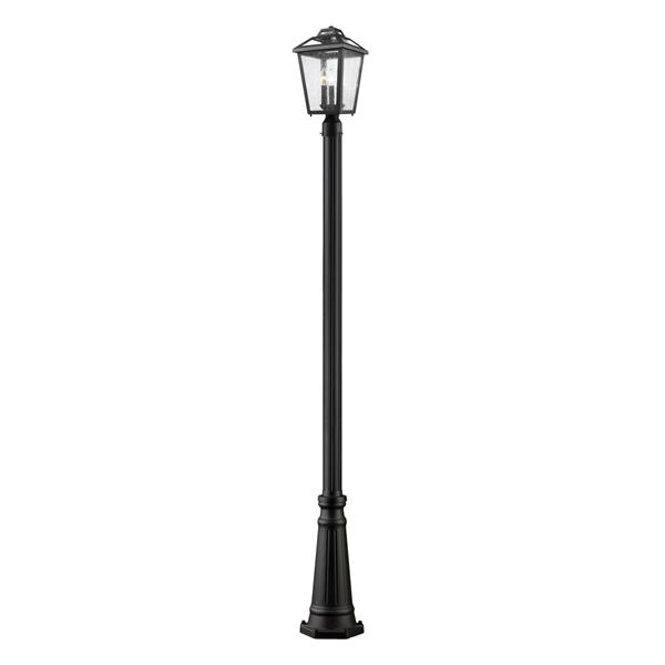 Z-Lite Bayland Outdoor Post Light - Black