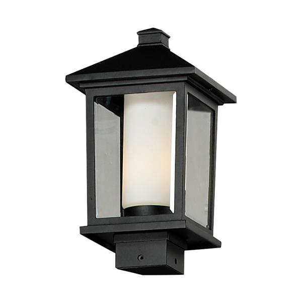 Z-Lite Mesa Outdoor Post Light - Black