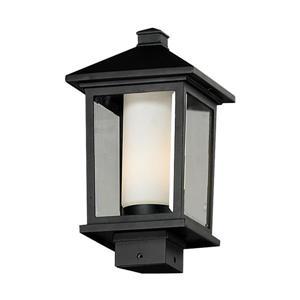 Luminaire extérieur sur poteau «Mesa», noir