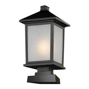 Luminaire extérieur sur poteau «Holbrook», noir