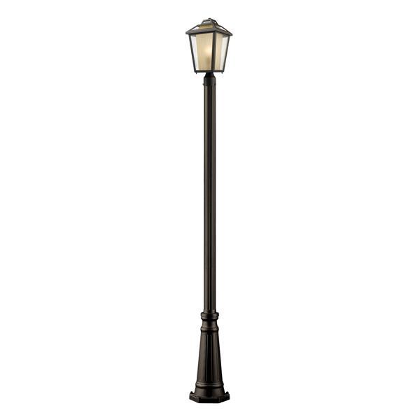 Z-Lite Memphis Outdoor Post Light - Black