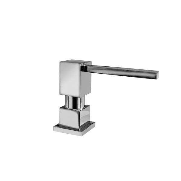 Whitehaus Collection Contemporary Brass Soap/Lotion Dispenser - Polished Chrome