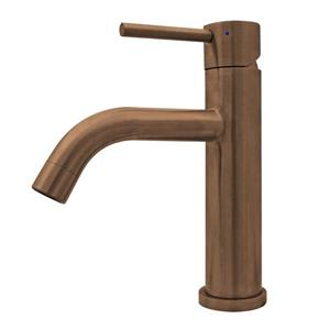 Whitehaus Collection Stainless Steel Elevated Bath Faucet.