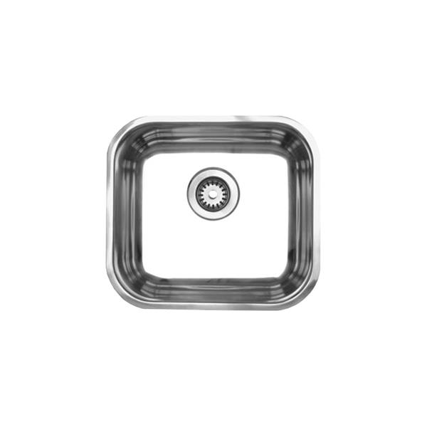 Whitehaus Collection Single Bowl Undermount Sink - Stainless steel