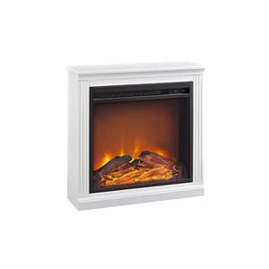 Ameriwood Home Bruxton Electric Fireplace - White