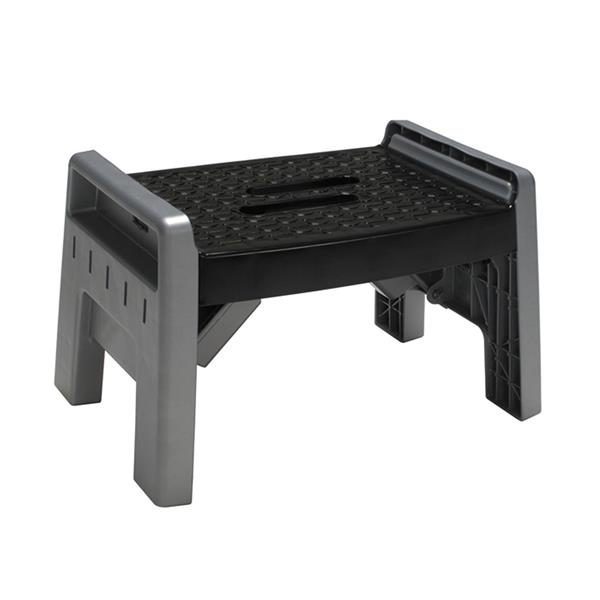 Astonishing Cosco Folding Step Stool Plastic Black Alphanode Cool Chair Designs And Ideas Alphanodeonline