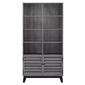 Vaughn Bookcase - Gray Oak