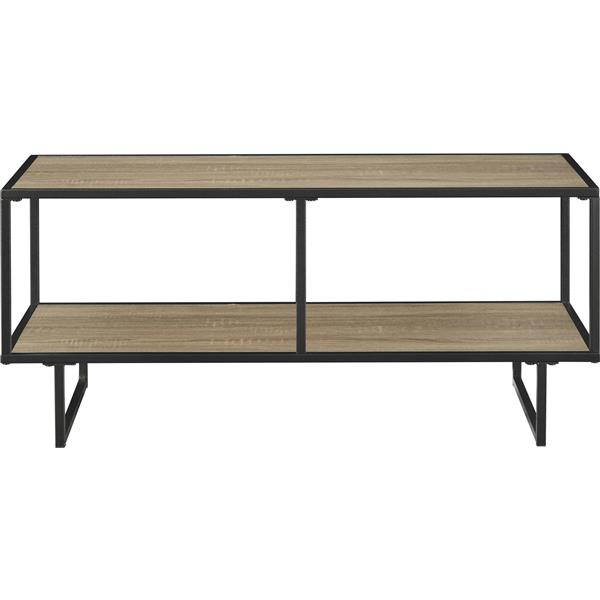 "Ameriwood Home Emmett TV Stand/Coffee Table for TVs up to 42"" - Gray Oak"