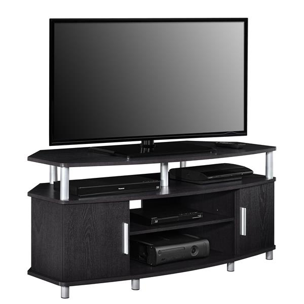 "Ameriwood Home Carson Corner TV Cabinet - For TVs up to 50"" - Espresso"