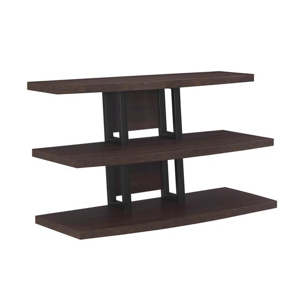 "Ameriwood Home Castling TV Stand for TVs up to 55"" - Open Storage -Espresso"