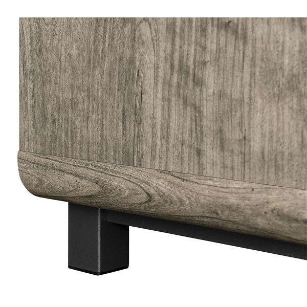"Ameriwood Home Eastlin TV Console for TVs up to 55"" - Weathered Oak"