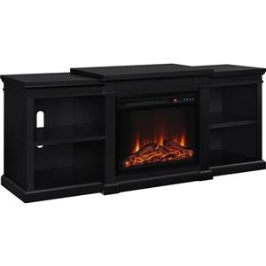 "Ameriwood Home Manchester TV Stand for TVs up to 70"" - Electric Fireplace"