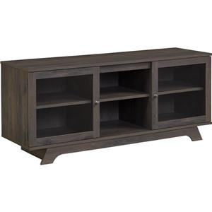 "Ameriwood Home Englewood TV Stand for TVs up to 55"" - Weathered Oak"