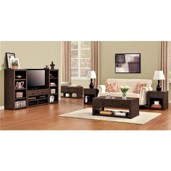 "Ameriwood Home Westbrook TV Stand for TVs up to 42"" - Dark Walnut"