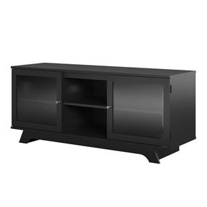 "Ameriwood Home Englewood TV Stand for TVs up to 55"" - 2 Doors - Black"