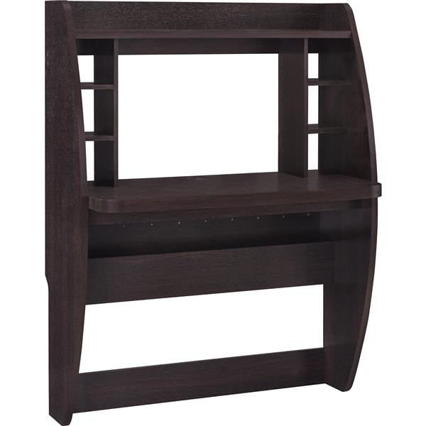 Ameriwood Home Jace Wall Mounted Desk - Espresso