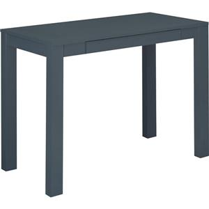 Parsons Desk with Drawer - Gray