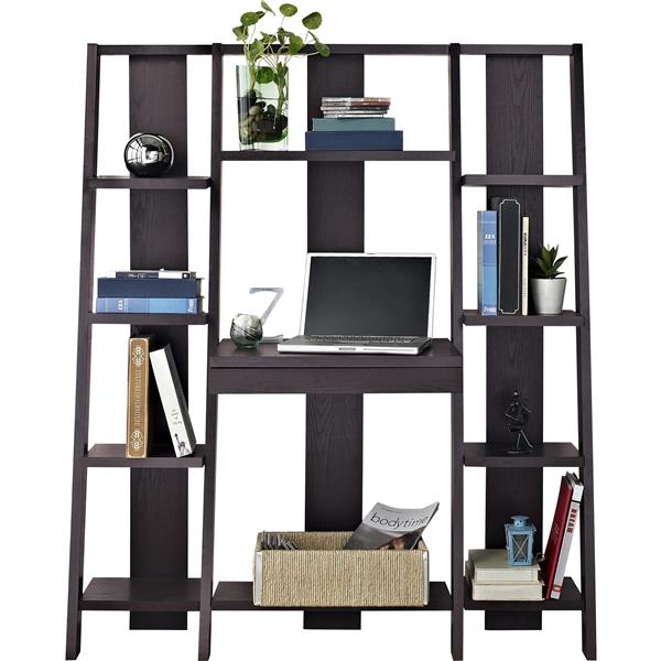 Ameriwood Home Tiffany Ladder Desk/Bookcase - Espresso
