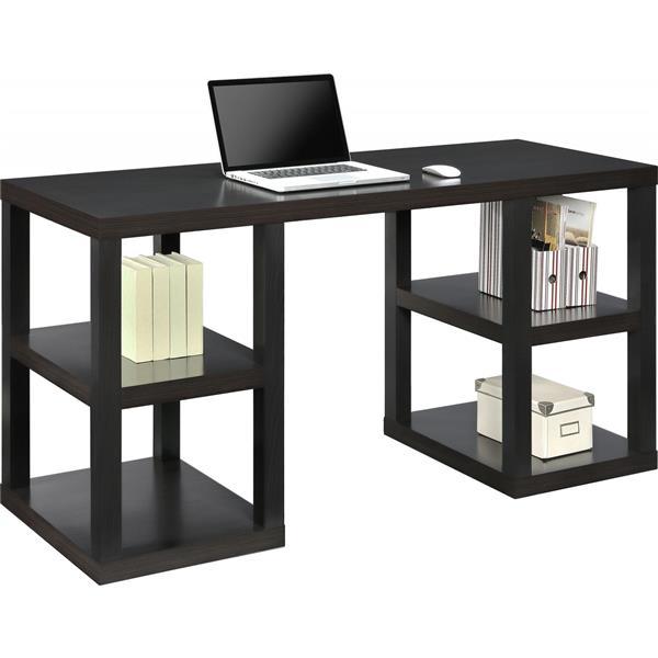 Ameriwood Home Parsons Deluxe Desk - Espresso