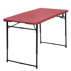 """Table pliante intérieure et extérieure Cosco, 27,8"""", rouge"""