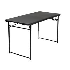 """Table pliante intérieure et extérieure Cosco, 27,8"""", noir"""