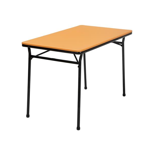 Cosco 3-Piece Set Folding Table and 2 Benches - Orange