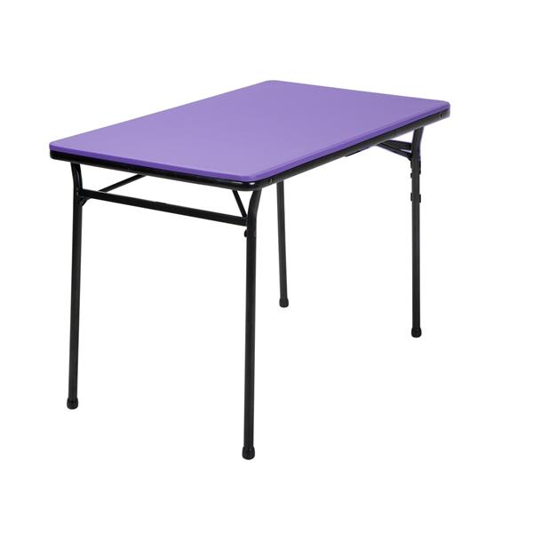 Cosco 3-Piece Set Folding Table and 2 Benches - Purple