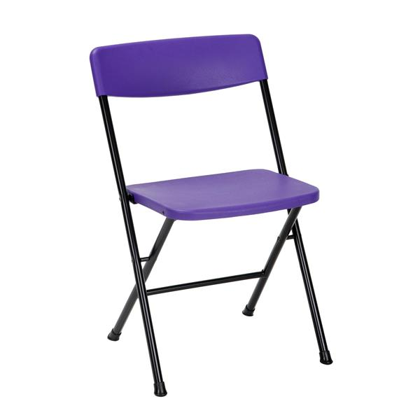 Cosco 3-Piece Set Folding Table and 2 Chairs - Purple