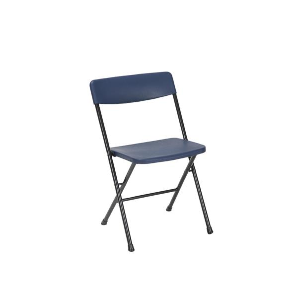 Cosco 3-Piece Set Folding Table and 2 Chairs - Navy Blue