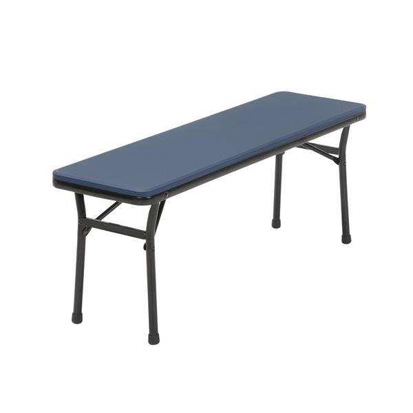 Cosco 3-Piece Set Folding Table and 2 Benches - Navy Blue