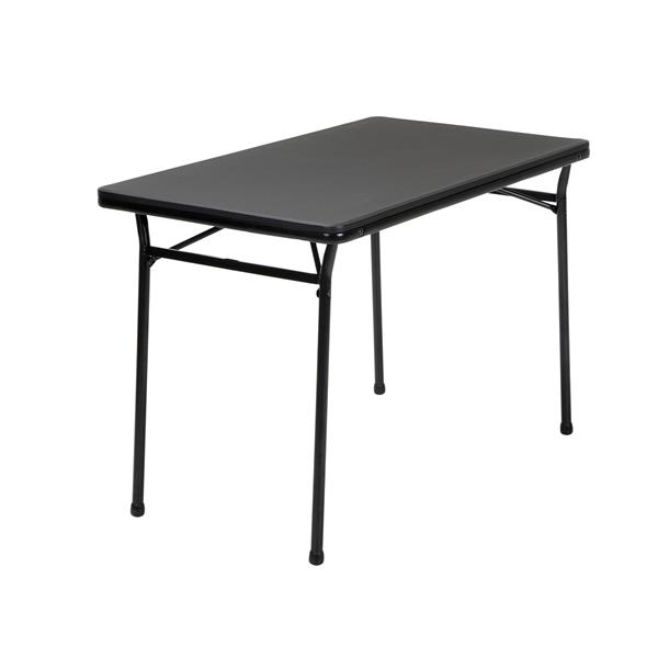 Cosco 3-Piece Set Folding Table and 2 Benches - Black