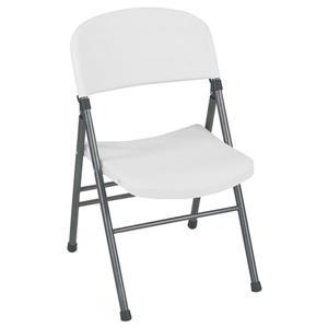 Ensemble de 4 chaises pliantes Cosco, vinyle noir