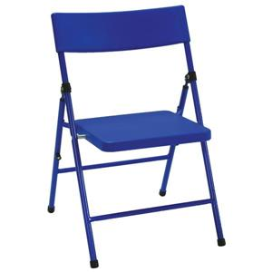Cosco Kids Folding Chair - Blue Plastic - Set of 4