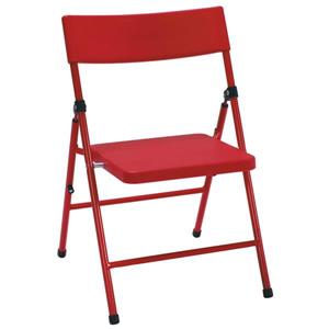 Cosco Kids Folding Chair - Red Plastic - Set of 4