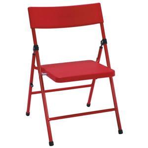 Chaise pliante pour enfants Cosco, ensemble de 4, rouge