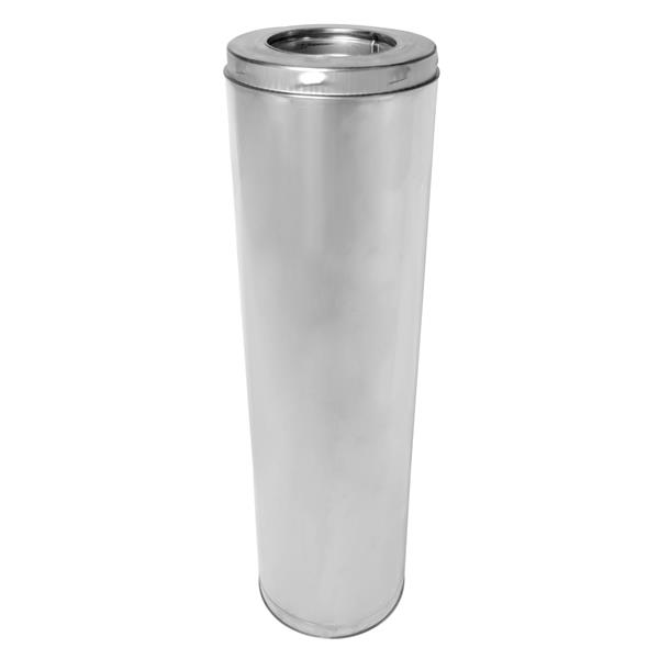 """SuperVent Insulated Chimney Pipe - 36"""" x 6"""""""