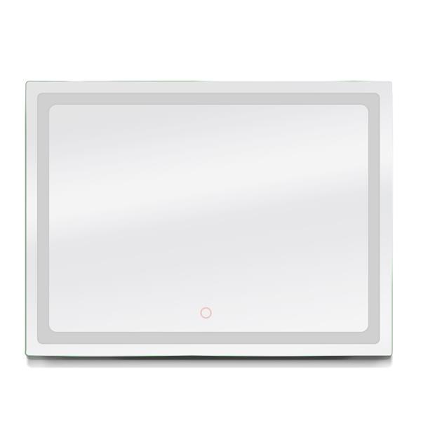 "Dyconn Faucet Swan Rectangular LED Bathroom Mirror -  48"" x 36"""