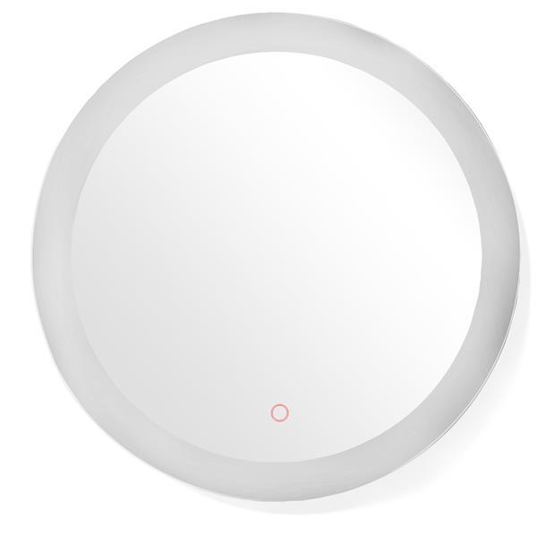 "Dyconn Faucet Royal Round LED Bathroom Mirror - 42"""