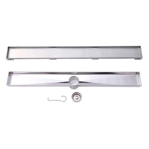 "BOANN Linear Shower Drain - 24"" - Stainless Steel"