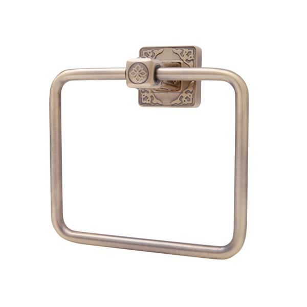 Dyconn Faucet Reno Series Towel Ring - Antique Brass