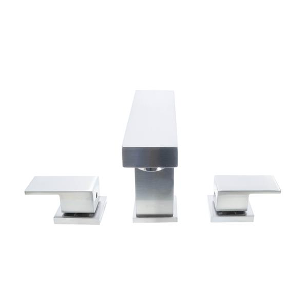 Dyconn Faucet Hoover Widespread Bathroom Faucet - Brushed Nickel