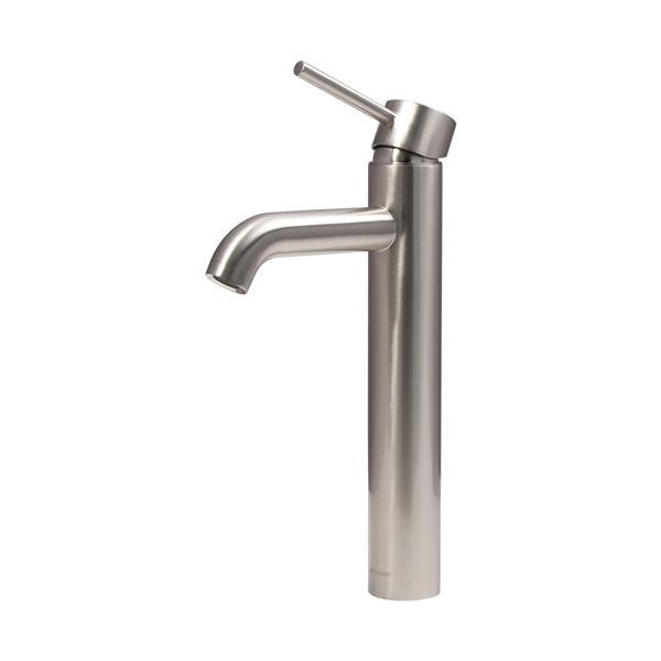 Dyconn Faucet Mystic Vessel Bathroom Faucet - Brushed Nickel