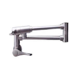 Dyconn Faucet Rio Grande Wall Mounted Pot Filler Faucet - Brushed Nickel