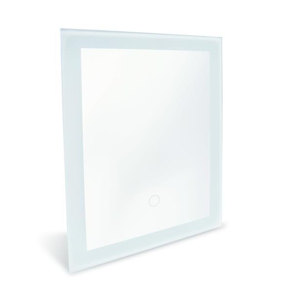 Dyconn Faucet Royal LED Wall Mounted Backlit Vanity Bathroom Mirror