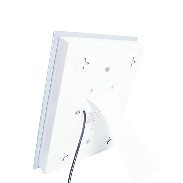 Dyconn Faucet Swan LED Wall Mounted Backlit Vanity Bathroom Mirror