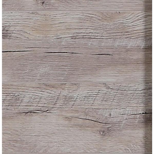 """Vanité Countryside, 2 tiroirs, 48"""", plaqué en bois naturel"""
