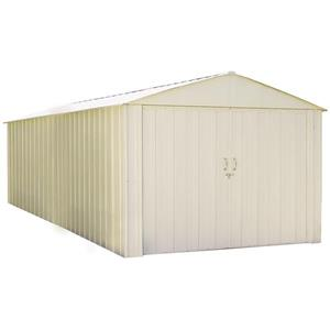 Arrow Commander® Steel Storage Unit - 10' x 20' - Off-White
