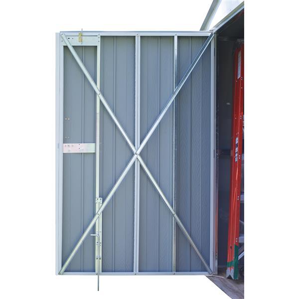 Arrow Commander® Steel Storage Unit - 10' x 30' - Off-White