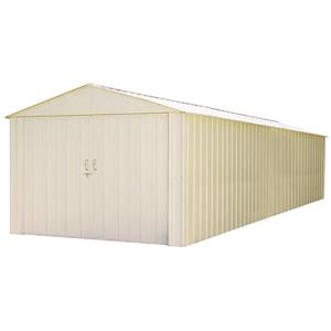 Arrow Commander® Steel Storage Unit - 10' x 30' - Off-White