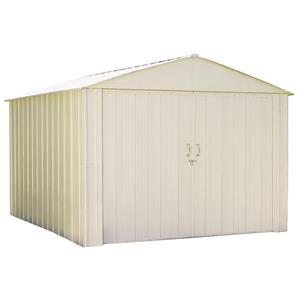 Arrow Commander® Steel Storage Unit - 10' x 10, - Off-White